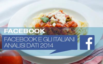Facebook e gli italiani: analisi dati 2014